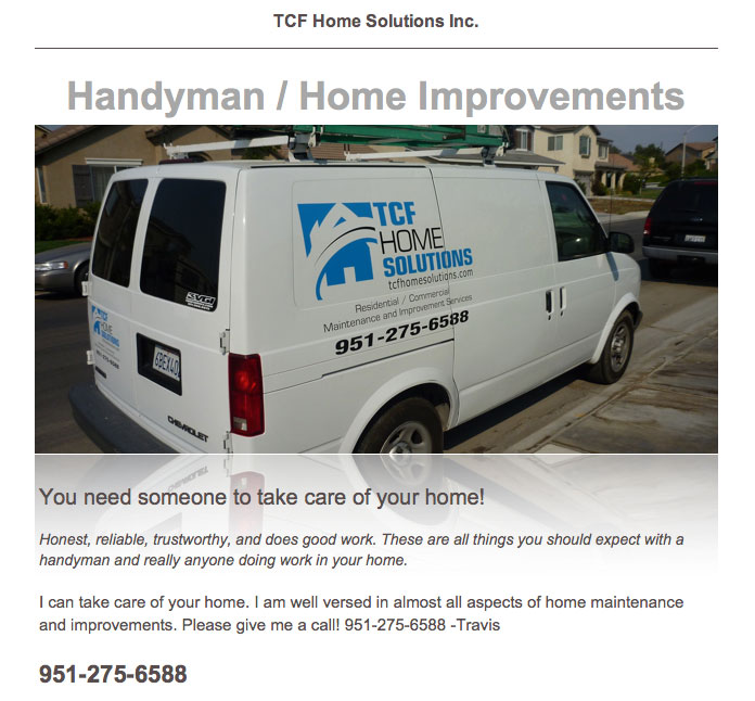 Free Advertising - Get Calls Instantly Posting Handyman Ads on ...