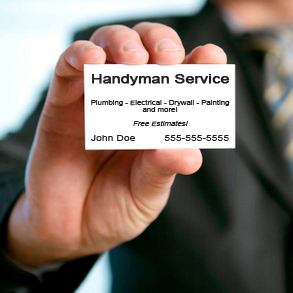 Handyman Business Cards Handyman Edge