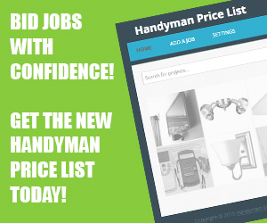 Handyman Price List